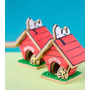 Cortador De Biscoito Kit Casinha Do Snoopy P/ Montar - 3d