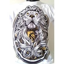 Camisa Camiseta Ogabel Leão Caveira Baralho Coringa