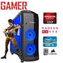 Pc Gamer Completo Cpu Intel Corei5 Rx 550 128 Bits Mem 8gb