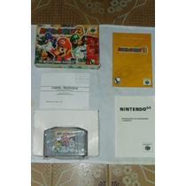 Cartucho D N64 Mario Party 3 Original Nacional Completíssimo