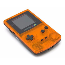 Game Boy Color Edição Limitada Zero Novo Laranja E Preto