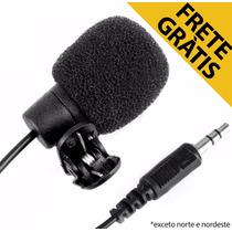 Microfone De Lapela P/ Gravadores, Filmadora, Computador Etc