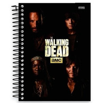 Caderno The Walking Dead 10 Materias