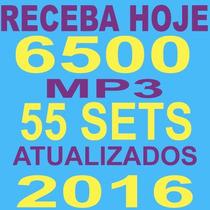 Pacotão 6500 Músicas + 55 Sets Mixados Atuais 2016 São 55gb