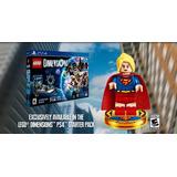 Lego Dimensions -apenas- Supergirl Versão De Pre-order Raro!