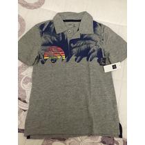 Camisa Polo Gap Original Tam 6/7 Anos - Nova