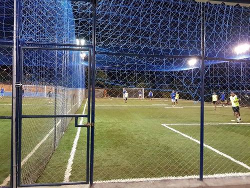12c1a3f440d89 Rede De Proteção Lateral E Fundo Quadra Campo Futsal Society - R ...