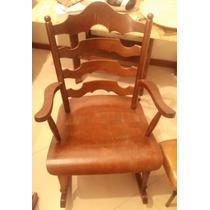 Cadeira De Balanço Antiga Art Deco Retrô Vintage Móveis Cimo