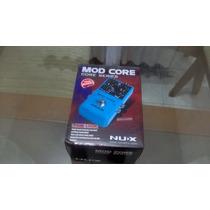 Pedal Mod Core Nux 8 Efeitos De Modulação- Poucas Unidades