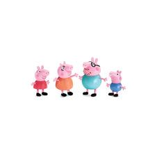 Peppa Pig E Familia - Mini Figuras Fisher Price
