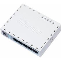 Mikrotik- Routerboard Rb 750gl Licença Nível 4 64mb Routeros