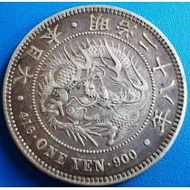 Japao-moeda Prata 900,ano 1895,peso 27 Grs-(ano 28)meiji 26
