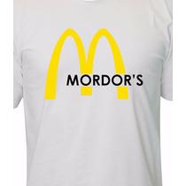 Camiseta Mc Mordor - O Senhor Dos Anéis - O Hobbit