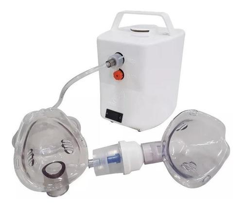 Nebulizador Compressor Nevoni Inalatec Plus Branco 110v/220v