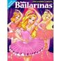 Brasil 2014 Álbum De Figurinhas Lindas Bailarinas Completo