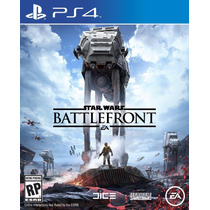 Star Wars Battlefront Ps4 Playstation 4 Mídia Física Pt Br
