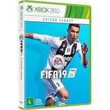Fifa 2019 Xbox 360 Mídia Física Lacrado Pt Br Pronta Entrega