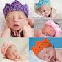 Coroa Em Croche Bebes Newborn Fotografias - Frete Econômico