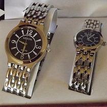 Relógio Geneva De Quartzo Ele E Ela
