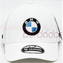Boné Bmw Trucker Fechado Bordado Tomflex Leopard Original