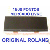 Display Roland Juno-stage/gi/gw8/jupiter50 Novo Aproveite