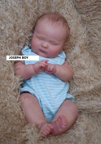 Bebê Reborn Realista Joseph Promoção Frete Gratis. R  799 d9cf207a411