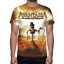 Camisa, Camiseta Avantasia - The Scarecrow - Estampa Total