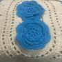 Jogo De Banheiro Com 3 Pcs Cada ,croche ,frete Gratis
