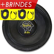 Alto Falante Woofer Spyder Kaos 2.0 1000 Rms 4 Ohms +brindes