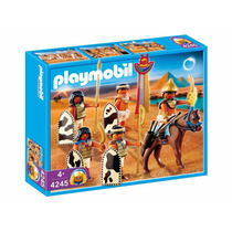 Playmobil 4255 Soldados Egitos Do Farao Leia Bem !!!