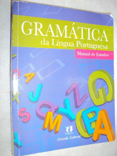 Gramática Da Língua Portuguesa: Manual De Estud (sebo Amigo)