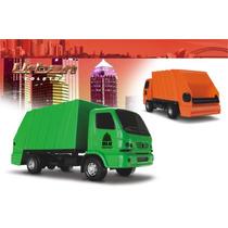 Caminhão De Lixo Roma Brinquedos Urban