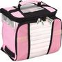 Bolsa Termica Fitness Rosa Ice Cooler 9 Latas Alimentos Mor