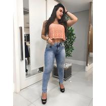 7b7c3b2e7 Feminino Calças Jeans Morena Rosa com os melhores preços do Brasil ...