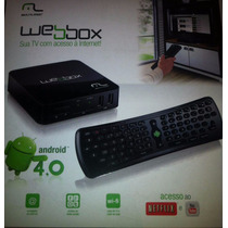 Multilaser Internet Box Tv Nano - Android 4.0 4gb Nb029