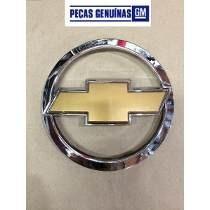 Emblema Chevrolet Dourado Grade Celta Original Gm