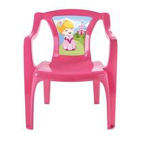 Cadeira Cadeirinha Infantil Plastica Em 2 Cores 6801 / 6802