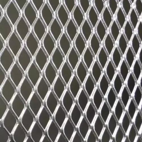 Tela Chapa De Alumínio Expandido  30 Cm X 100 Cm