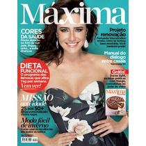 Revista Maxima Abril 2015 = Fernanda Vasconcellos Nova!