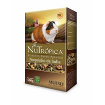 Ração Nutrópica Para Porquinho Da Índia Muesli C/ Fruta 500g