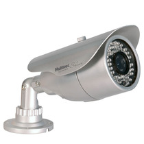 "Multitoc Camera Ccd Color Ir60 1/ 3"" Sharp 420 Linhas 6"