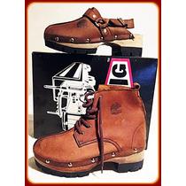 Conj. Sandália/bota Adventure Couro Rustico Big Rig Export