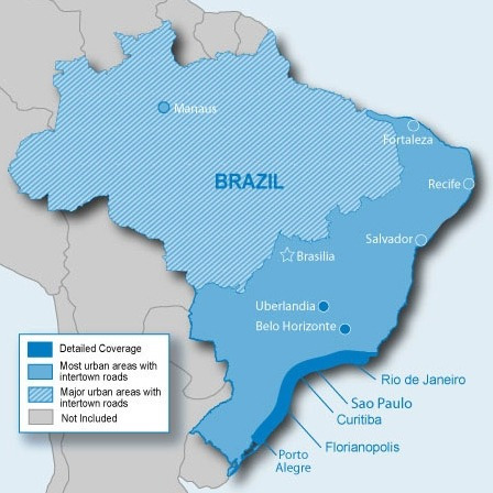 Mapa City Navigator Brasil P / Gps Garmin