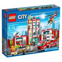 Lego City 60110 Quartel Dos Bombeiros Novo