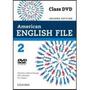American English File - Level 2 - Dvd - 2ª Ed. 2013