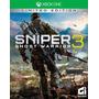 Xone - Sniper Ghost Warrior 3 - Míd Fís - Pronta Entrega