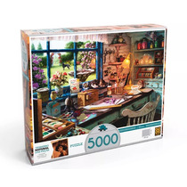 Puzzle Quebra Cabeça Grow 5000 Peças Ateliê