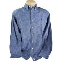Camisa Social Esporte Fino Masculina Ralph Lauren 100% Origi