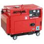 Gerador 5000w Motomil - Diesel - Silenciado - Automático Qta