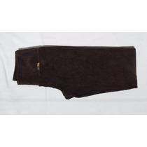Calça Legging De Veludo Cotelê - Cintura Alta Com Bolso